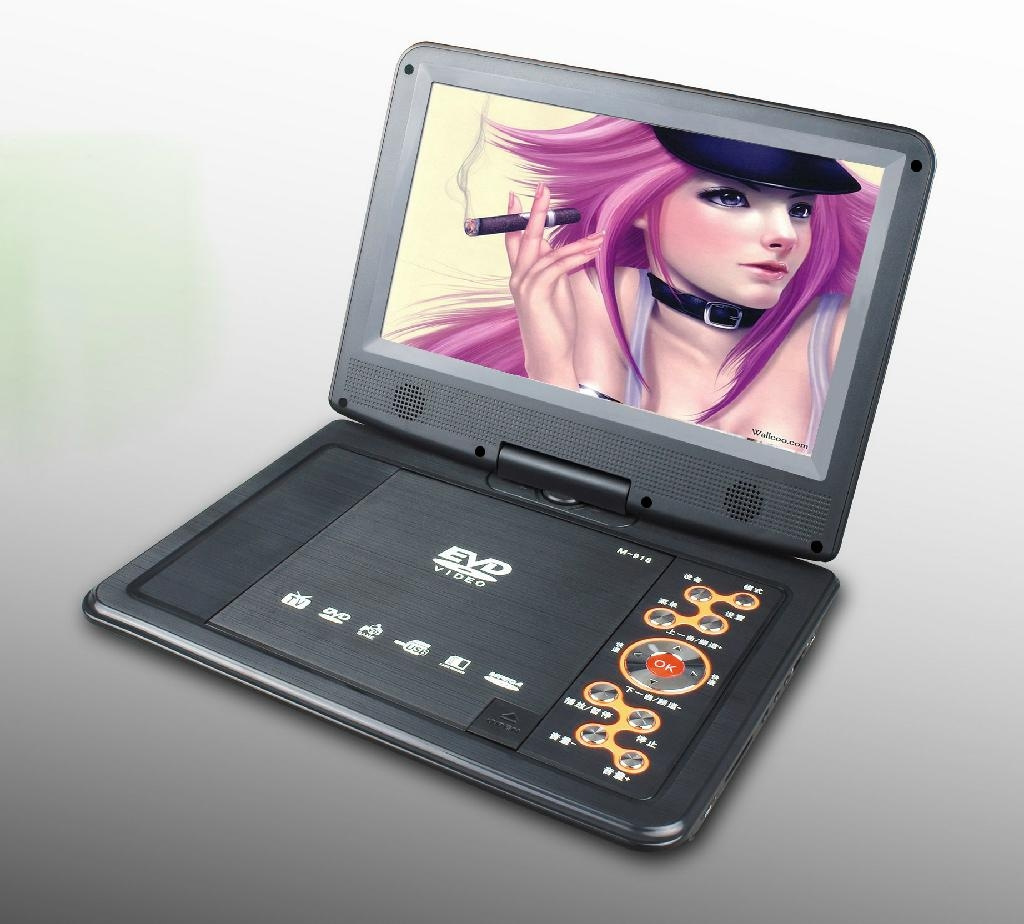 High definition cheap portable dvd player with tv tuner  3