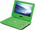 High definition cheap portable dvd player with tv tuner  4