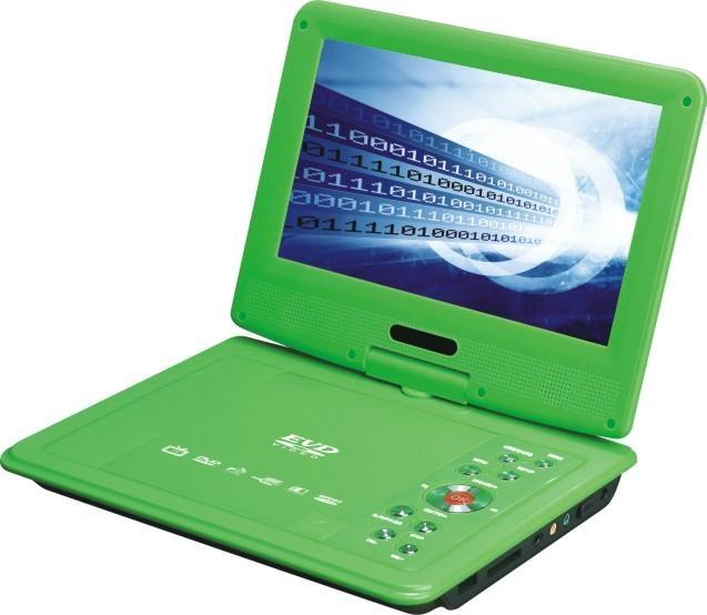 2014火爆新款高清低价便携式DVD播放机带电视调谐器 4