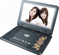 High definition cheap portable dvd player with tv tuner  5