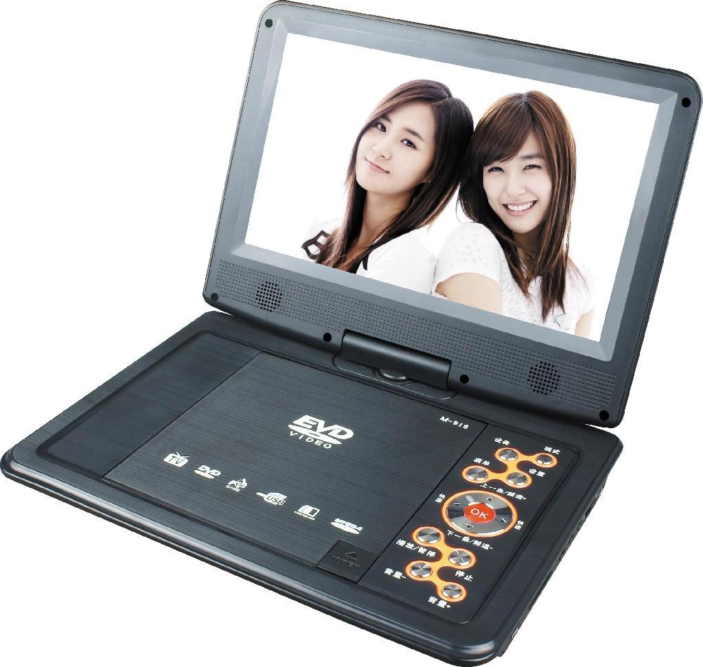 2014火爆新款高清低价便携式DVD播放机带电视调谐器 5