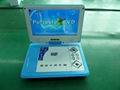 9'' High Resolution Portable DVD Player with TV/Game  5