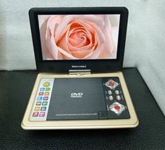 9'' High Resolution Portable DVD Player with TV/Game