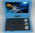 "Best Selling 9"" portable dvd player with TV/AV/FM/GAME 1"