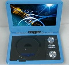 廠家直銷9寸數字模擬通用便攜式DVD播放機帶多功能