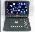 2014 New model 9 inch Portable DVD Player with TV/FM/USB/SD card/ Game /CE/RoHS  1