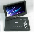 2014 New model 9 inch Portable DVD Player with TV/FM/USB/SD card/ Game /CE/RoHS  4