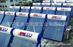 solar water heater with high quality solar collector tube