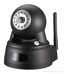Cloud 720p WiFi Wireless P2p IR Onvif IP Camera-Home Security