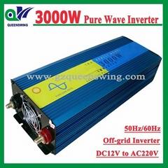 3kw/3000W 12V 220V DC/AC Pure Sine Wave Power Inverter