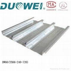corrugated steel floor decking sheet For Sale