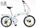 Foldable bike/bicycle