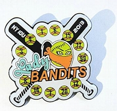 Sell Cheap soft enamel baseball trading lapel pin