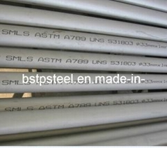 S31803 F51 Duplex Stainless Steel Seamless (SMLS) Pipe or Tube