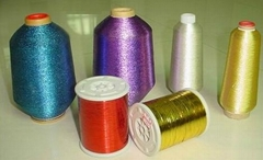 lurex metallic yarn for knitting and embroidery