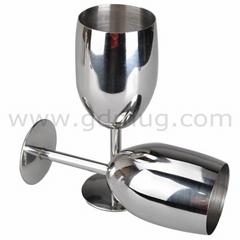 300ml 10oz metal goblets for sale