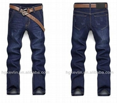 custom 2014 hot sell raw man denim jeans
