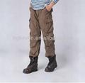 wholesale military style mens cheap khaki baggy cargo pants