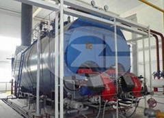 4 ton oil gas fired boiler for sale