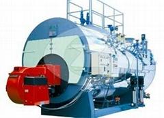 4 ton gas fired hot water boiler