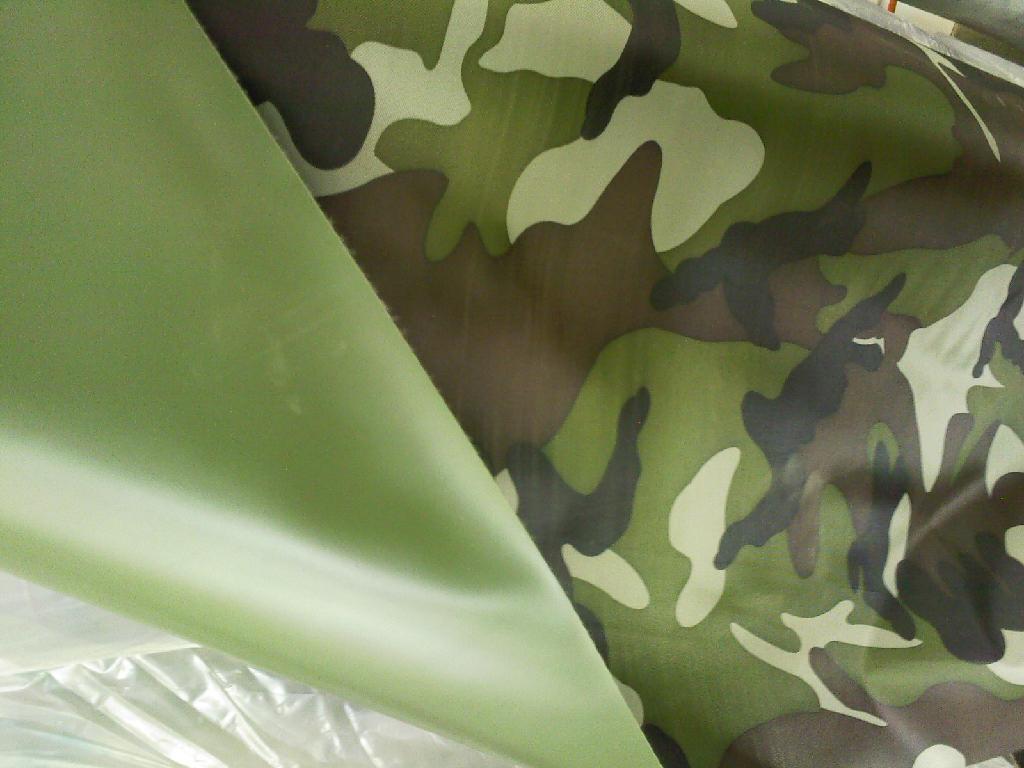 150D PVC coat oxford fabric  for tent 2