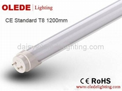 CE ROHS Certificated T8 1200mm LED Tube