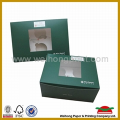 custom design&printed cake pop boxes wholesale
