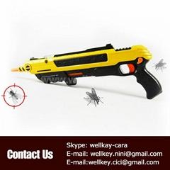 plastic gun toy shoot for flies killing
