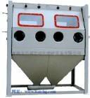 2010A型双抢双工位手动喷砂机