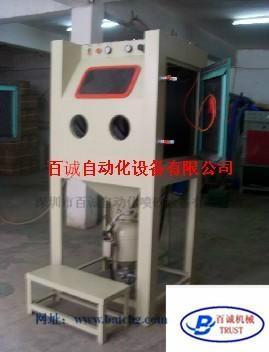 6050普壓箱式手動噴砂機 3
