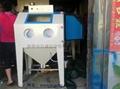 6050普壓箱式手動噴砂機 4
