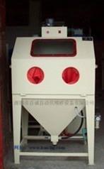 6050普壓箱式手動噴砂機 5