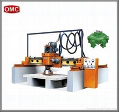 Polishing machine for stone