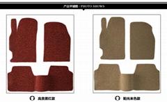 丝圈地毯小卷材包装