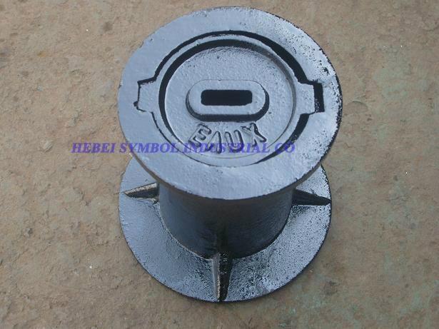 cast iron surface box,water meter box 1