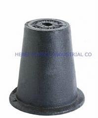 hebei symbol ductile iron manhole cover for va  e protection