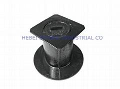 hebei symbol ductile iron manhole cover with rectangular lid