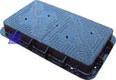 en124 heavy duty rectangular manhole cover supplier