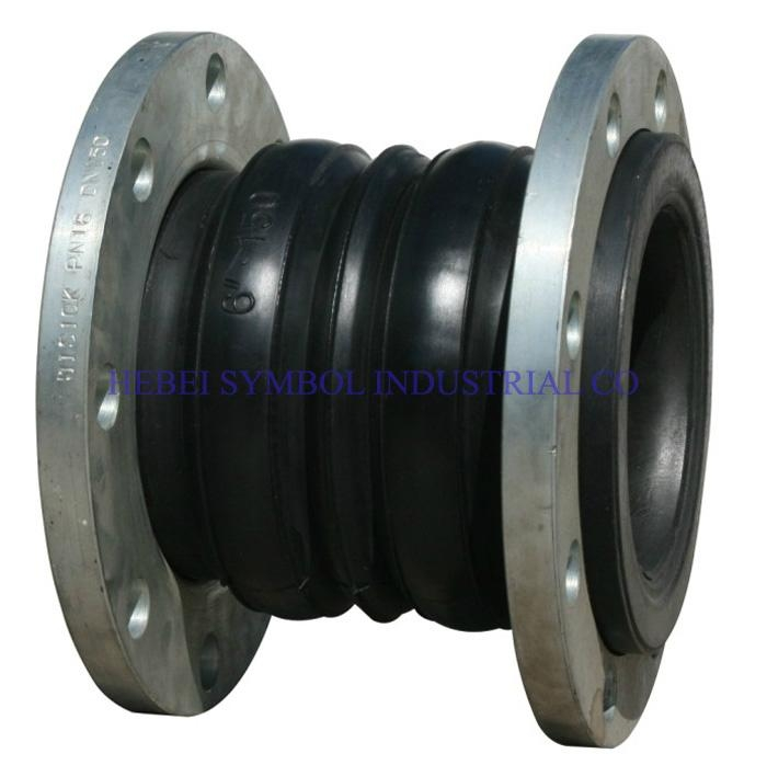 Expansion Joint Parts : Double ball galvanized rubber expansion joint china