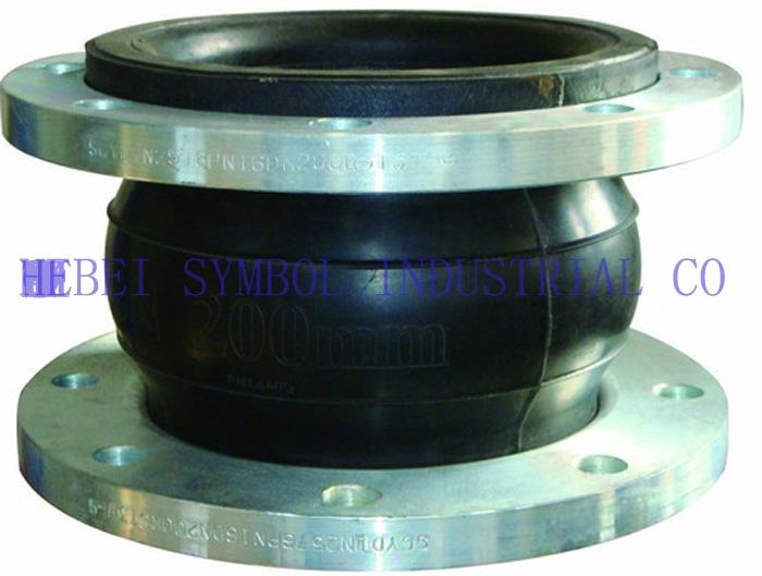 single sphere rubber expansion joint with floating flange 1