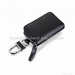 2014 Leather car key case china wholesale