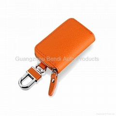 Leather car key wallet car key wallet china wholesale