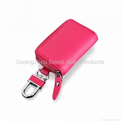 Wallet for car key leather car key cases car key wallets china wholsale