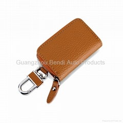Cases for car key leather car key cases car key wallets china wholsale