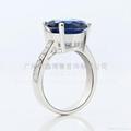 韩版首饰批发 925纯银戒指 珠宝设计 2