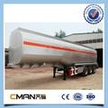 China Made 3Axles vacuum tank trailer