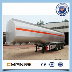 China Made 3Axles vacuum tank trailer
