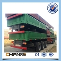 3 Axle 40ton removable Side box price of truck trailer  2
