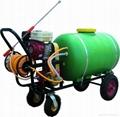 Trolley agricultural power sprayer