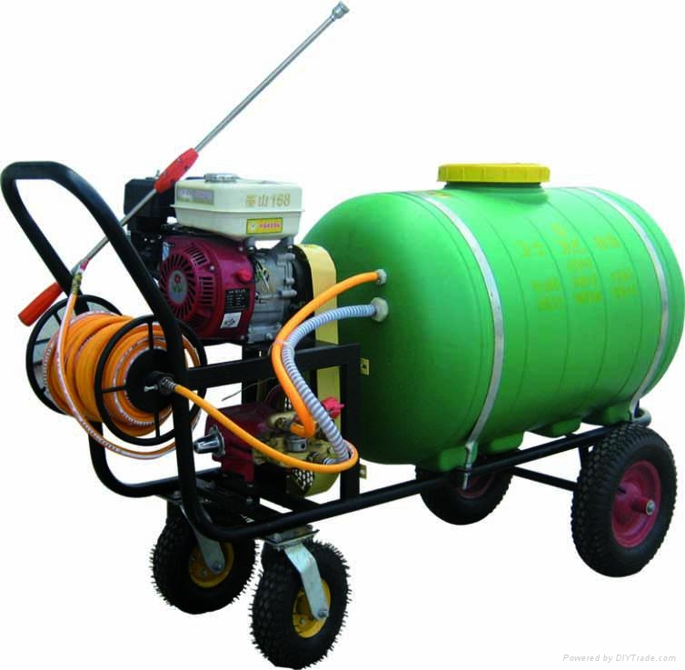 Trolley agricultural power sprayer WSJ-300LC 1